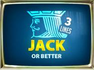 Jacks Or Better 3 Lines